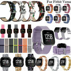 Woven Replace Fabric/Leather/Stainless Watch Band Wrist Strap For Fitbit Versa
