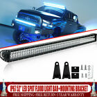 52 LED Light Bar Combo + Mount Bracket For 2001 2019 Dodge Ram 1500 2500 3500
