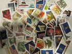 USA postage stamp lots ALL DIFFERENT USED MOSTLY RECENT STAMPS  FREE SHIPPING