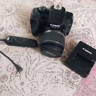 canon 1000d camera Body Lense Charger & Remote Fully Working