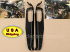 Heavy Duty Inner Front Batwing Fairing Support Brackets Black 4 Harley Touring