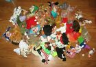 TY Beanie Babies - Mixed Lot of 66 Beanies also McDonald's tiny ones also