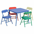 Flash Furniture Kids Colorful 5 Piece Folding Table and Chair Set JB 9 KID GG