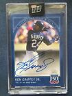 2019 TOPPS 150 YEARS OF BASEBALL #22A KEN GRIFFEY JR. AUTO # 99