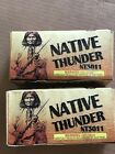 firework labels Native Thunder Crackers Big Rare Collectible No combustibles