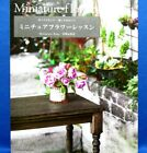 Polymer Clay Miniature Flowers Lesson Japanese Craft Pattern Book Brand New