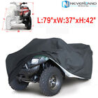 L Heavy Duty Oxford ATV Cover 4 Wheel Fits Polaris Honda Yamaha Can-Am Suzuki