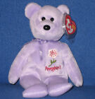 TY PENNSYLVANIA MOUNTAIN LAUREL STATE FLOWER BEANIE BABY - MINT with MINT TAG