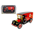 New 1920 White Delivery Van Texaco Red 1/32 Diecast Car Model by Signature Model
