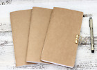 Midori Travelers Notebook Planner Refill Inserts Kraft Cover Choose Page Design