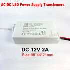Led Strip Light Driver Adapter Ac 110v 220v 230 To Dc 12v Power Supply Converter