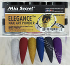 Mia Secret Nail Art Acrylic Professional Powder 6 Colors Set - ELEGANCE