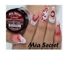 Mia Secret Nail Art Acrylic Professional Powder 6 Colors Set - RED GIFT