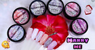 MARRY ME Mia Secret Nail Art Acrylic Powder Collection 6 Colors Set