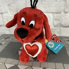 Clifford the Big Red Dog Celebrating 50 Years plush beanie With Tags Rare