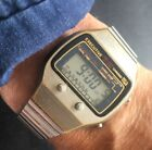 Executive Melody Alarm Vintage LCD Watch Very Cool  Retro Duel Time