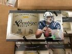 2012 Panini PRESTIGE 24 PACK BOX ANDREW LUCK RUSSEL WILSON RC AUTOS AND INSERTS