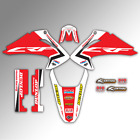 2003 2004 2005 2006 2007 HONDA CRF 150F 230F GRAPHICS KIT MOTOCROSS MX DECALS