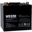 Weize 12 Volt 55AH AGM Battery For Scooter Wheelchair Mobility SLA Deep Cycle
