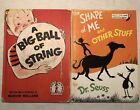 Dr Seuss Beginner Books Lot of 2 A BIG BALL OF STRING + The Shape Of Things