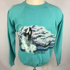 Vintage 80s Shamu Seaworld Killer Whale Orca Fish Ocean Surf T Shirt USA Made