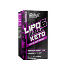 Nutrex Research Lipo-6 Black Keto Diet Pills BHB, Apple Cider Vinager, Carnitine