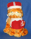 TY HIS MAJESTY GARFIELD the CAT BEANIE BABY - CATS RULE - MINT w/NEAR MINT TAG