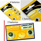 4 pieces SR626SW AG4 377 LR626 Alkaline Button Cell Watch Battery  1.55v button