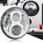 DOT LED Projector 7 Round Headlight Chrome for Jeep Wrangler TJ LJ CJ JK JKU