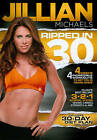 Jillian Michaels Ripped in 30 DVD 2011 Disc Only