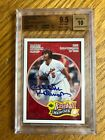 GRADED BROOKS ROBINSON ON CARD AUTOGRAPH 9.5
