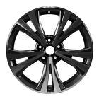 18 X 7 5 Double Spoke OEM Nissan Alloy Wheel Machined and Charcoal 62747