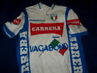 VINTAGE TEAM CARRERA JEANS VAGABOUND CYCLING BICYCLE JERSEY SIZE LARGE