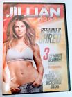 Jillian Michaels Beginner Shred Workout DVD Three Beginner Workouts Program New