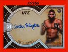 2018 Topps UFC Museum Collection MMA Cards 18