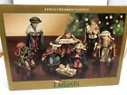 Dillards 8 Piece Childrens Nativity Figurines