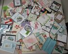 Lot of 70 Stampin Up Demonstrator Quality Hand Stamped Card Swaps Full