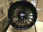 20 STAGGERED B7 ALPINA STYLE BLACK RIMS FITS BMW 6 SERIES 645 650 COUPE CONVER