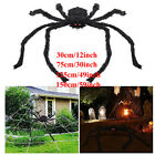 Halloween Plush Giant Spider Decoration Haunted House Yard Props 30 75 125 150cm
