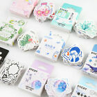 46PCS Box Cute Stickers Kawaii DIY Scrapbooking Diary Label Stickers Stationery