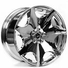 20 Staggered Donz Wheels Merlino Chrome Rims fit BMW 5 Series