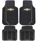 New Chevy Elite Front Rear Back Car Truck Suv All Weather Rubber Floor Mats