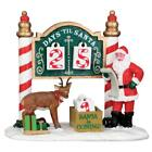 Lemax Christmas Village Accessory Christmas Countdown #53208