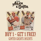 2019 TOPPS ALLEN  GINTER GINTER GREATS YOU PICK YOUR CARD BUY 1 GET 1 FREE