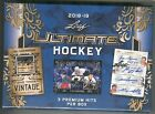 Leaf 2018-19 Ultimate Hockey Sealed Box - 3 Premium Hits per Box