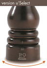 Peugeot 23447 Paris USelect 5 Inch Pepper Mill Chocolate