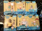 Family Guy 6-inch Scale Action Figure MEZCO 2010 - RARE lot of 6