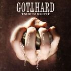 need to believe GOTTHARD CD