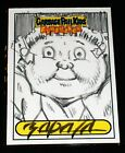 GARBAGE PAIL KIDS 2011 Flashback Series 3 JEFF ZAPATA Sketch Card - OS4 147 -FS3