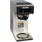 Bunn 133000001 VP17 1 12 Cup Low Profile Pourover Coffee Brewer with 1 Warmer 1